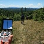 Compass work is learning the basics on this backpacking adventure with Step Outdoors